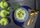 Kohlrabi-Avocadosalat