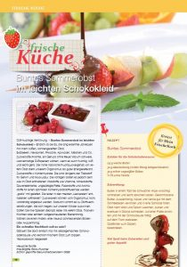 """5 Magazin """"Mein Frischekorb"""" Ausgabe JuliAugust 2015"""