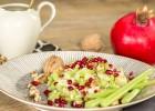 Stangenselleriesalat mit Äpfeln und Walnüssen